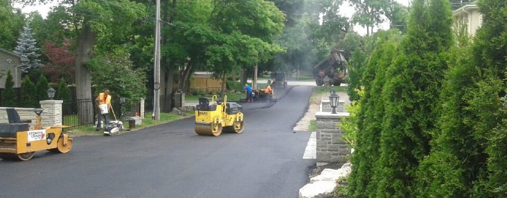 City of Hamilton street paving job