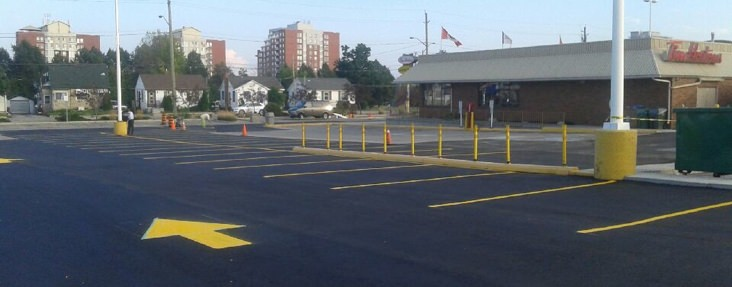 Commercial parking lot paving Stoney Creek